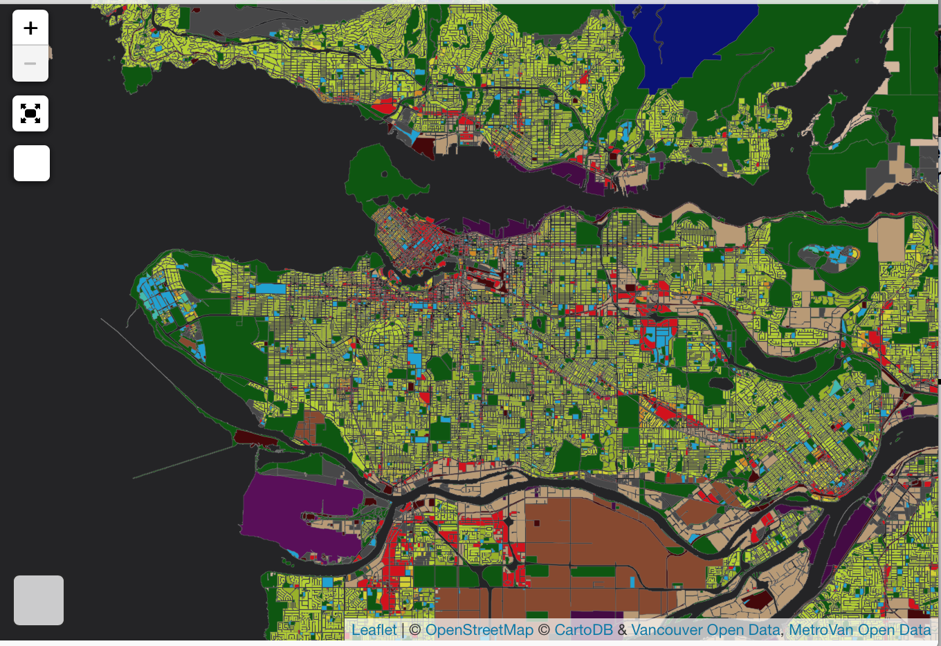 Metro Vancouver Land Use